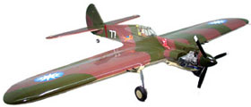 Brodak P-40B model airplace kit